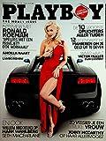 Playboy Netherlands International Magazine Mark Wahlberg / Jenny McCarthy #10 2012 The Money Issue