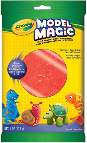 Crayola Model Magic 4 oz, Red (57-4438)