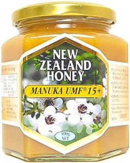ハニーマザー マヌカハニー UMF15+ 500g 非加熱 100%純粋 ニュージーランド産 マヌカ蜂蜜