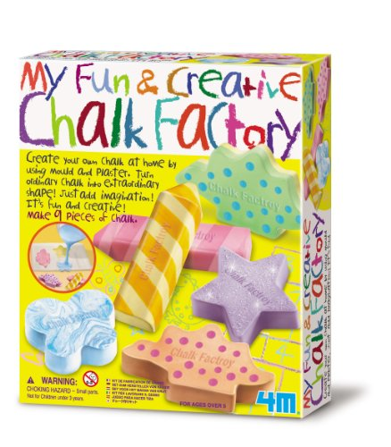 Great Gizmos - Ensemble de jeu - My Fun and Creative Chalk Factory