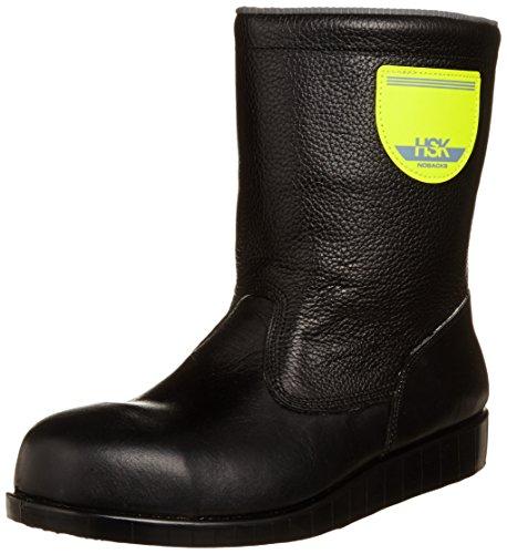 [ノサックス] 安全靴 舗装靴 HSK半長靴 JISモデル 道路舗装用 HSK208J1 メンズ 黒 24.5cm(24.5cm)