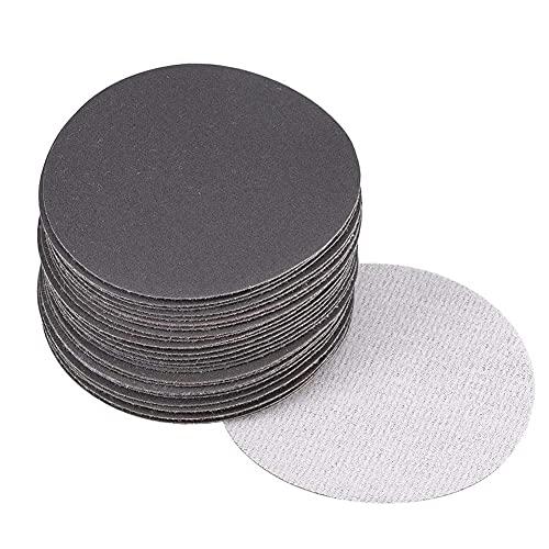 CYH Lot de 30 Disque de Poncage 125mm Disques Abrasifs de Humide et Sec | Papier Abrasif Ronde Grain 320 600 800 1200 1500 2000 | pour Poncer/Polir/Dérouiller
