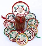 TWO DOZEN MINIATURE SOMBREROS: Our fiesta party supplies mini Sombreros 12 pk comes ready to use in assorted colors. Our Sombrero Hats are handcrafted by Mexican Artisans. The vibrant colors make them a blast to use for your Cinco De Mayo or Mexican ...