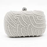 LT Clutches Pearl Dinner Package Perlen Clutch Bag Single Side Pearl Dinner Package Süßes...