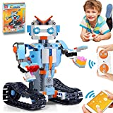 HOMOFY STEM Toys Building Blocks Robots for Kids Educational Science Kits Toys Learning Science Building Toys-Remote Control STEM Toys Robots Science Kits for Kids 8 9 10-12 Year Olds Boys Girls Gifts