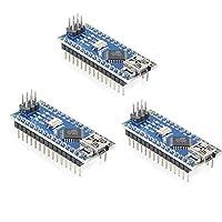 HiLetgo 3個セット Nano V3.0 ATmega328P 5V 16M CH340 Arduinoと互換 Nano V3.0 [並行輸入品]