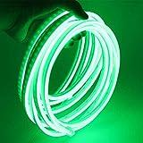 XUNATA, Striscia di luci LED 2835, flessibile, impermeabile, neon bianco caldo, 12 V, da 5 m, per esterni, feste, decorazione per feste, insegne pubblicitarie