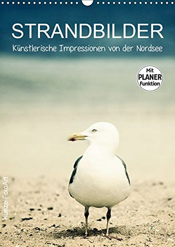 Strandbilder - Künstlerische Impressionen von der Nordsee (Wandkalender 2019 DIN A3 hoch): Ein praktischer Familienplaner mit stimmungsvollen Bildern ... Nordsee (Planer, 14 Seiten ) (CALVENDO Natur)