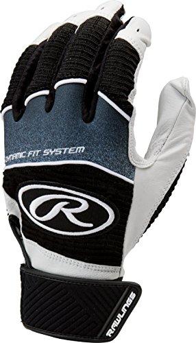 Rawlings Workhorse 950 Series Adult Batting Gloves,Black,XL