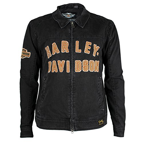 HARLEY-DAVIDSON Men's Becher Garage Jacket 98569-16VM (X-Large) Black