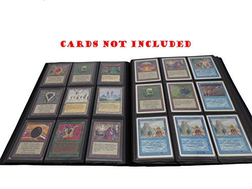 docsmagic.de Pro-Player Album Black - 360 Card Binder - Magic: The Gathering - Pokemon - Yu-Gi-Oh! - Schwarz