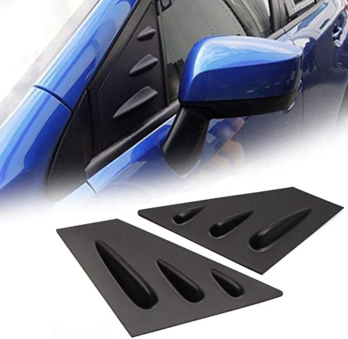 YUZHONGTIAN Auto Trims Co., Ltd 2015-2019 for Subaru WRX, Crosstrek, STi Car Accessories Window Scoop Louvers Cover A...