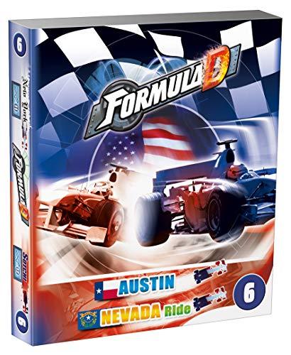 Asmodee Formula D Expansion. 6: Nevada / Austin - Das Brettspiel