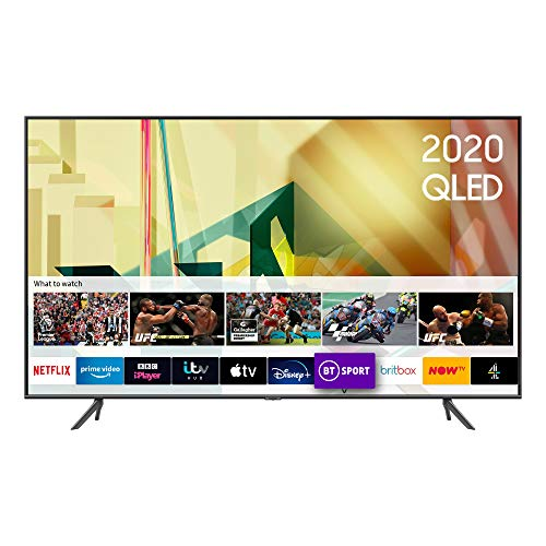 "Samsung 2020 85"" Q70T QLED 4K Quantum HDR Smart TV with Tizen OS"