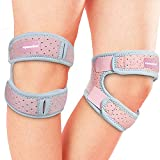 Best Knee Straps - Maxdee 2 Pack Patella Knee Strap, Knee Pain Review
