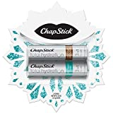 ChapStick Total Hydration Lip Balm Holiday Snowflake Gift Pack (Coconut, Soothing Oasis, 0.15 Ounce, 2 Sticks), Lip Care, Moisturizer and Therapy, Skin Protectant, Stocking Stuffer
