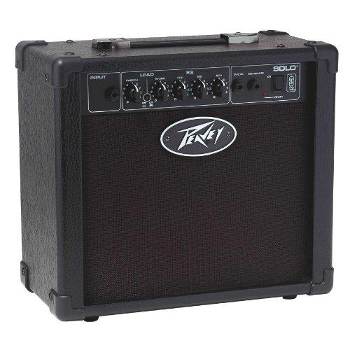 Peavey Solo Guitar - Amplificador para Guitarra eléctrica (15 W), Color Negro