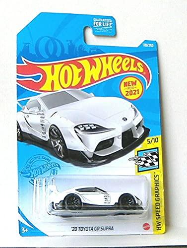DieCast Hotwheels '20 Toyota GR Supra - HW Speed Graphics 5/10 [White]...