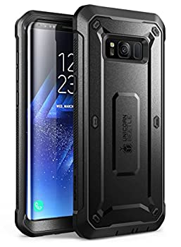 SUPCASE Unicorn Beetle PRO Series Phone Case for Samsung Galaxy S8 Full-Body Rugged Protective Case for Galaxy S8 2017  Black