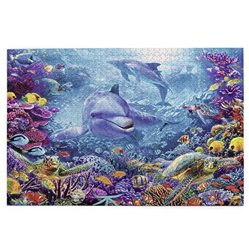 Encontrar Nemo 1000 piezas 3d Hd rompecabezas, rompecabezas de descompresión para adultos, juego de rompecabezas para niños, decoración del hogar