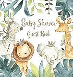 Safari Baby Shower Guest Book (Hardcover)
