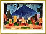 1art1 Paul Klee Poster Kunstdruck und Kunststoff-Rahmen -