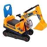 GOTOTOP Escavatore Giocattolo Grande per Bambini Trattori Escavatore Senza Pedali Pala dell'Escavatore Funzione Manuale,Macchina Scavatrice a Braccio Lungo per Bambini Giocando