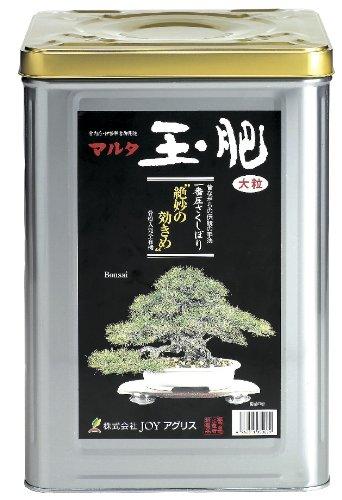 Geosism & Nature Tamahi, Tamaki Japonais, NPK 5-4-1 (8 kg) Taille L, Engrais pour bonsaï de conifères