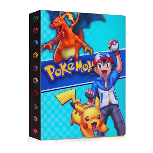 JOYUE Pokemon Card Holder Album, Carpeta Pokemon para Tarjetas, Album de Tarjetas,...