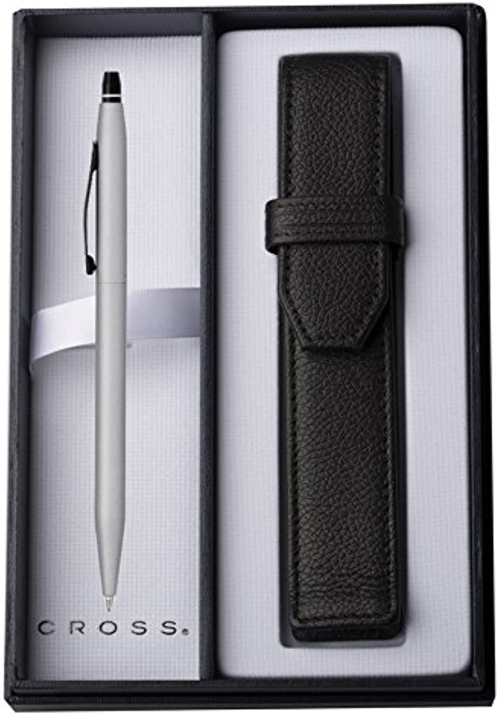 Cross Kugelschreiber, matt, mit Tasche, Chromfarben Chromfarben Chromfarben B00WMR11F2 | Mittel Preis  7b913f
