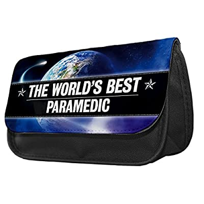 World's Best Paramedic Pencil Case / Make up bag 131 by Duke Gifts
