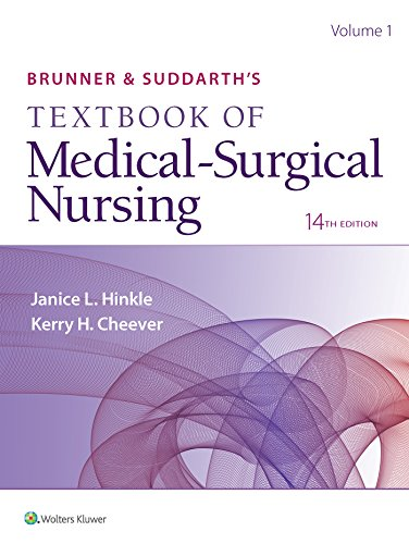 Compare Textbook Prices for Brunner & Suddarth's Textbook of Medical-Surgical Nursing 14 Edition ISBN 9781496355157 by Hinkle PhD  RN  CNRN, Dr. Janice L,Cheever PhD  RN, Kerry H.