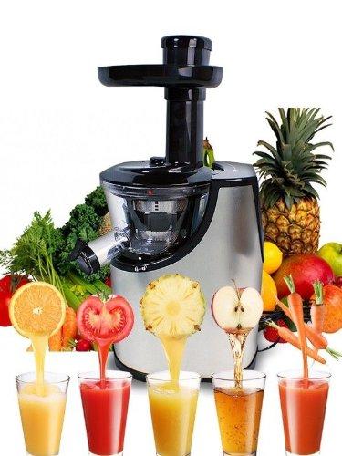 Great Deal! New Deluxe Stainless Steel Fruit Vegetable Power Slow Juicer Juice Extractor