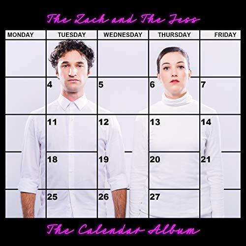 The Zach and The Jess: The Calendar Album audiobook cover art