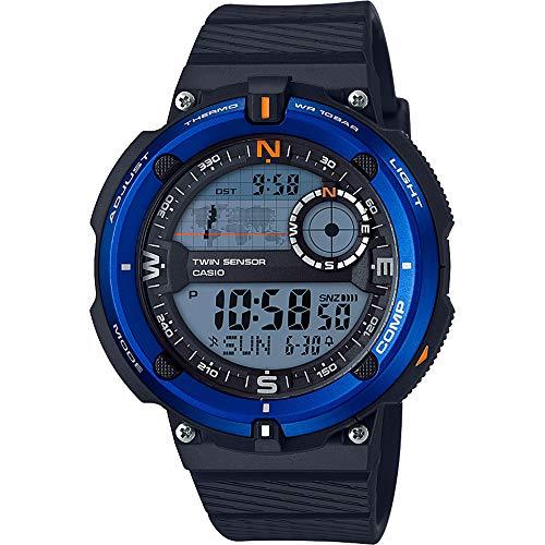 Casio Reloj Digital para Hombre de Cuarzo con Correa en Plástico SGW-600H-2AER