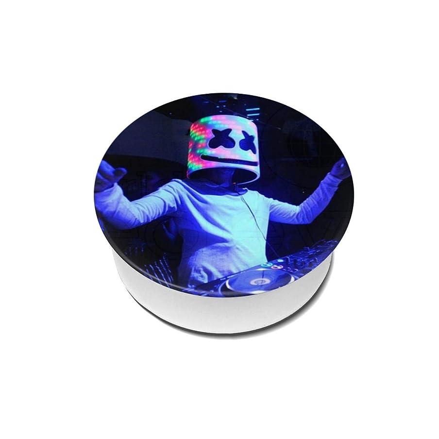 温度計世界蚊Yinian 4個入リ マシュメロ Marshmello スマホリング/スマホスタンド/スマホグリップ/スマホアクセサリー バンカーリング スマホ リング おしゃれ ホールドリング 薄型 スタンド機能 ホルダー 落下防止 軽い 各種他対応/iPhone/Android(2pcs入リ)