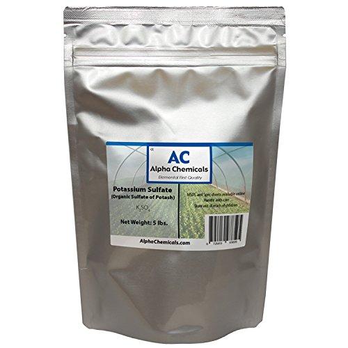 5 Pounds - Potassium Sulfate - Sulfate of Potash