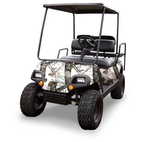 Mossy Oak Graphics (10060-WR) Winter 4' x 10' Roll Golf Cart Camouflage Kit