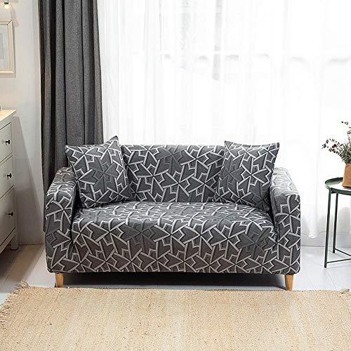 HXTSWGS Fundas de sofá Gruesas para sofá,Funda de sofá, poliéster elástico de Spandex,sofá de 1/2/3/4 plazas, Protector de Muebles de Sala de Estar con Funda protectora-A16_4 Asientos 235-310cm