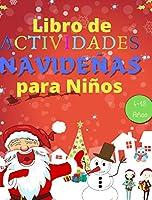 Libro de Actividades Navideñas para Niños 4 a 10 Años