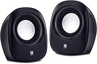 iBall Sound Wave2 – Multimedia 2.0 Stereo Speakers, Black