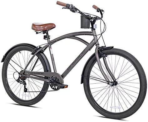 Snow Shop Everything 26 7 Speed Bayside Men s Bike Satin Cocoa Color Quick Release Seat for product image