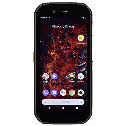 CAT S42 Robustes Outdoor Smartphone (13.97cm (5.5 Zoll) HD+ Display, 32 GB interner Speicher, 3GB RAM, Dual-SIM, Android 10, Stoß- und Wasserdicht) - IMPORTWARE