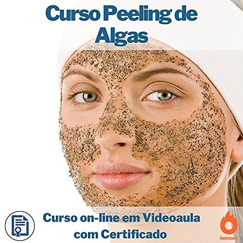 Curso on-line em videoaula Peeling de Algas com Certificado