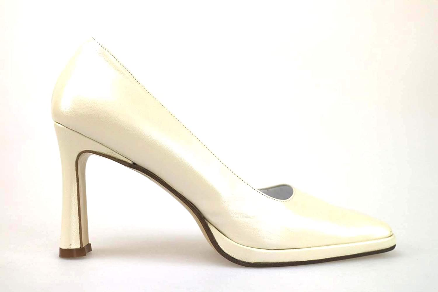 IL GRECO Pumps-shoes Womens Leather White 9 US