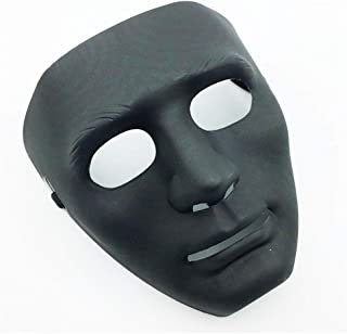 LW Full Face Mask, Stage Party Dance Halloween Mask for Hip Hop Dance Opera