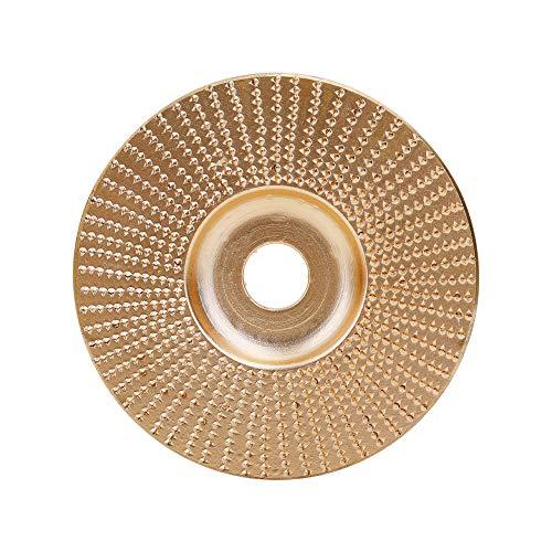 Kkmoon slijpschijf voor haakse slijpmachine van hout voor haakse slijpers van staal met hoge carbon tenor 2 goud.