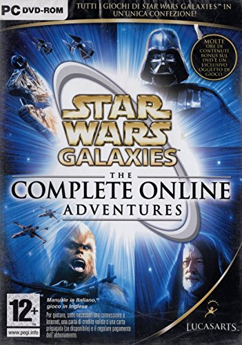 LucasArts Star Wars Galaxies - The Complete Online Adventures, PC - Juego (PC)