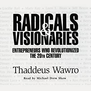 Radicals & Visionaries audiobook cover art