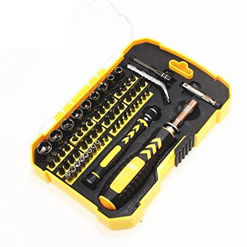 HUXIZ Schraubendreher LSD03 Reparaturwerkzeug-Kit Stecknuss-Schraubendreher-Kit Haushalt Schraubendreher Set magnetisch Schraubendreher Set für Haushalt
